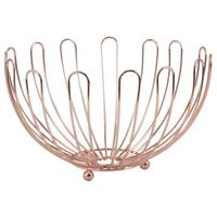 Photo CCO8400 : Corbeille ronde en métal cuivré