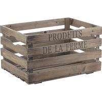 Photo CRA3750 : Caisse en bois Produits de la ferme