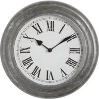 Photo DHL1150V : Horloge en métal et verre