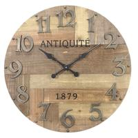 Photo DHL1500 : Horloge en bois Antiquité