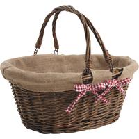 Photo PAM2750J : Panier en osier brut