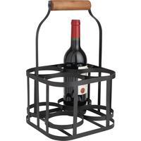panier porte bouteilles en m tal pbo1801 vannerie pack. Black Bedroom Furniture Sets. Home Design Ideas
