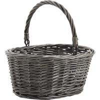 Photo PCF1950 : Mini panier en osier gris