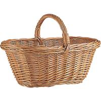 Photo PMA1300 : Panier en osier buff