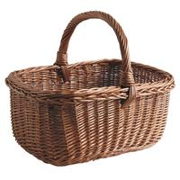 Photo PMA4960 : Panier en osier buff