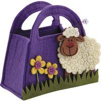 Photo SCF1080 : Mini sac en feutrine motif mouton