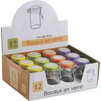 Photo TPO1140V : Bocal rond en verre