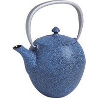 Photo TTH1150 : Théière en fonte bleue 1l