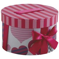 Photo VBT2920 : Boite cadeau ronde en carton