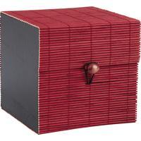 Photo VCF1330 : Coffret en bambou rouge