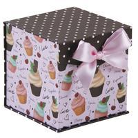 Photo VCF1650 : Boire carrée cupcakes en carton
