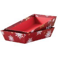 Photo CCO9520 : Corbeille de Noël en carton