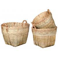 Photo CUT158S : Maxi corbeilles en bambou