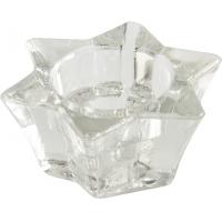 Photo DBO1390V : Mini contenant étoile en verre