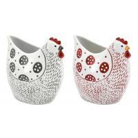 Photo DVA1751 : Vase Poule en céramique