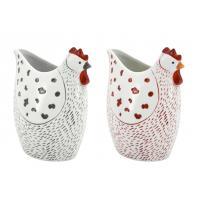Photo DVA1752 : Vase poule en céramique
