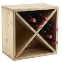 Photo NCA1400 : Casier 12 bouteilles en épicéa