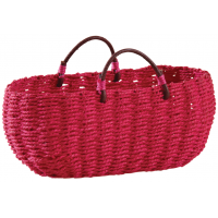 Photo SCF1140 : Panier oval fuchsia