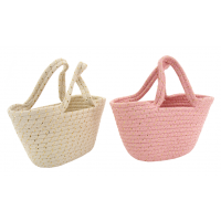 Photo SEN1340 : Mini panier en corde de coton