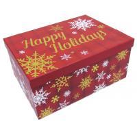 Photo VBT304S : Série de 2 boîtes de Noël rectangulaires...