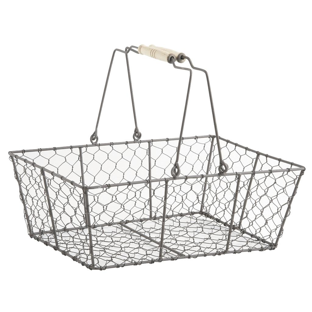 panier en grillage pam2360 vannerie pack. Black Bedroom Furniture Sets. Home Design Ideas