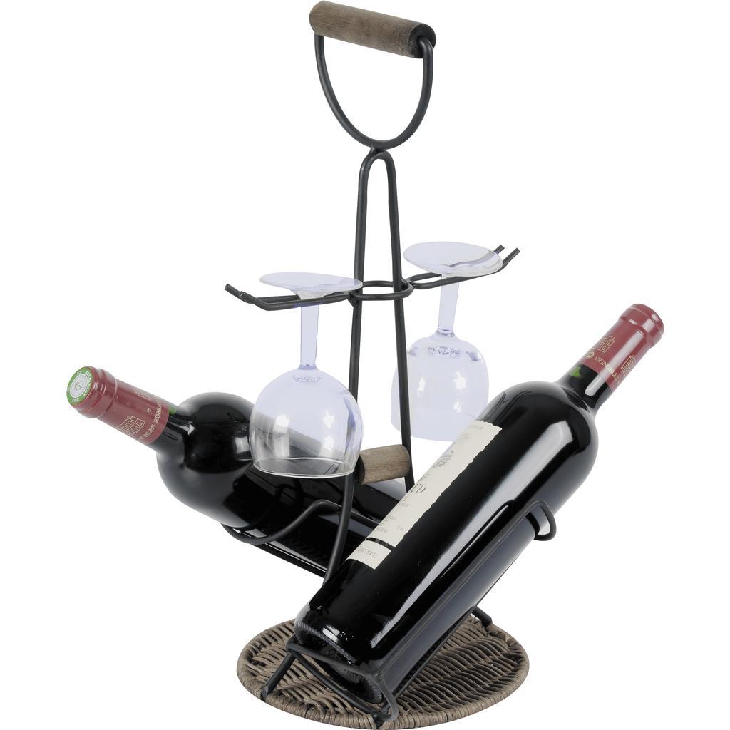 porte bouteilles et verres pbo1750 vannerie pack. Black Bedroom Furniture Sets. Home Design Ideas