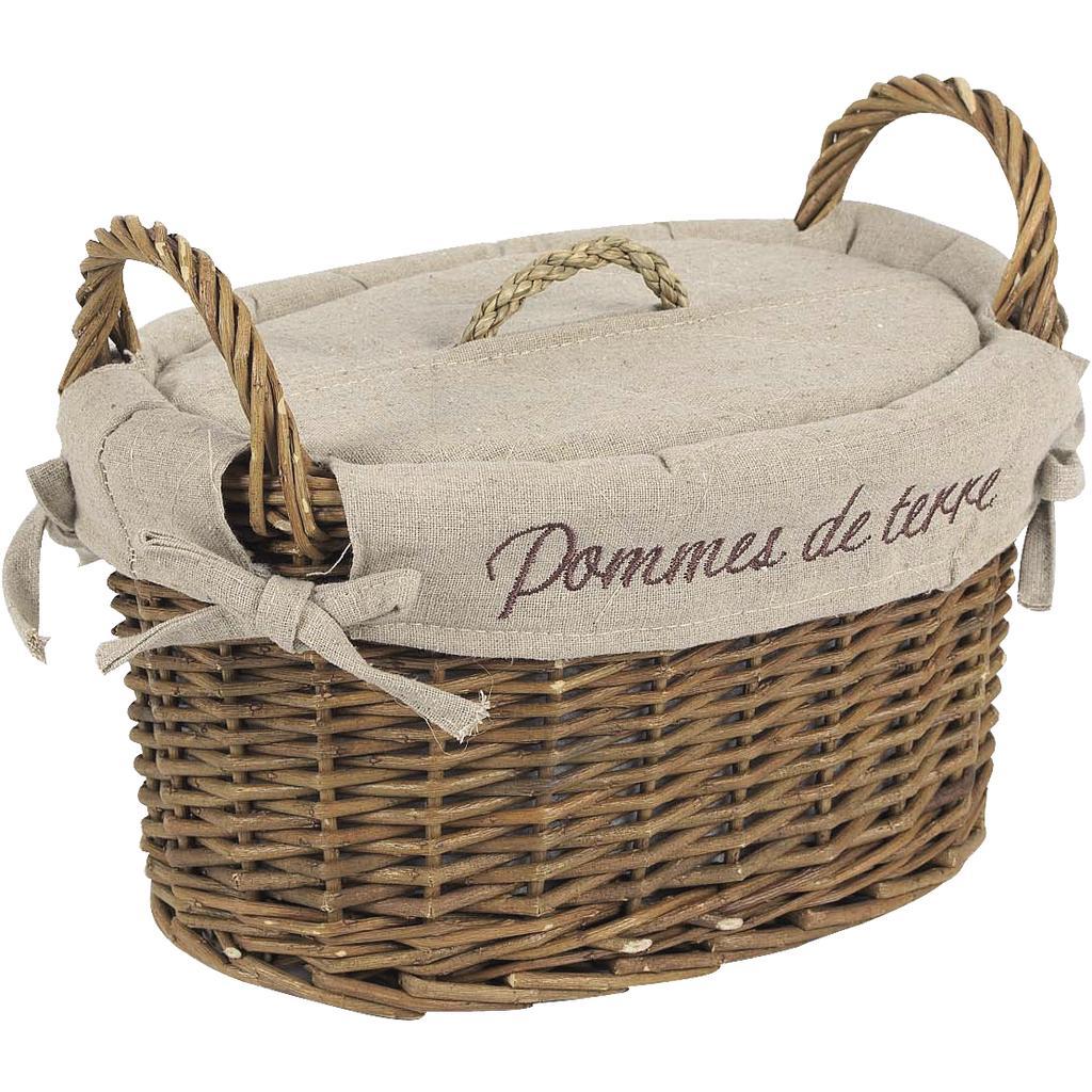 coffret pommes de terre en osier brut et jute tdi1350j vannerie pack. Black Bedroom Furniture Sets. Home Design Ideas