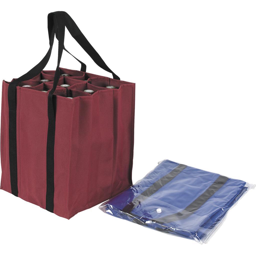 sac porte bouteilles en nylon vbo1563 vannerie pack. Black Bedroom Furniture Sets. Home Design Ideas