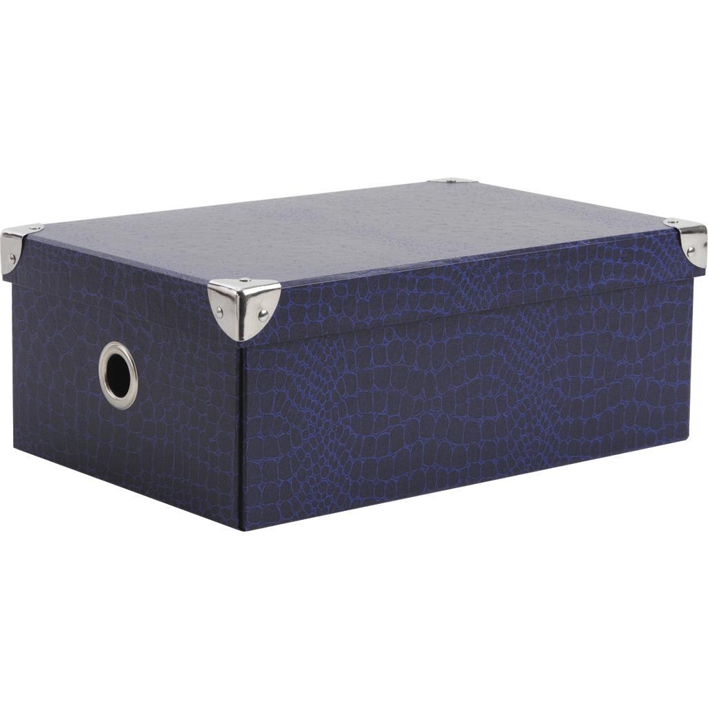 boite en carton bleue vbt2350 vannerie pack. Black Bedroom Furniture Sets. Home Design Ideas