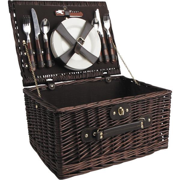 valise pique nique en osier 4 couverts vpi1260c vannerie pack. Black Bedroom Furniture Sets. Home Design Ideas