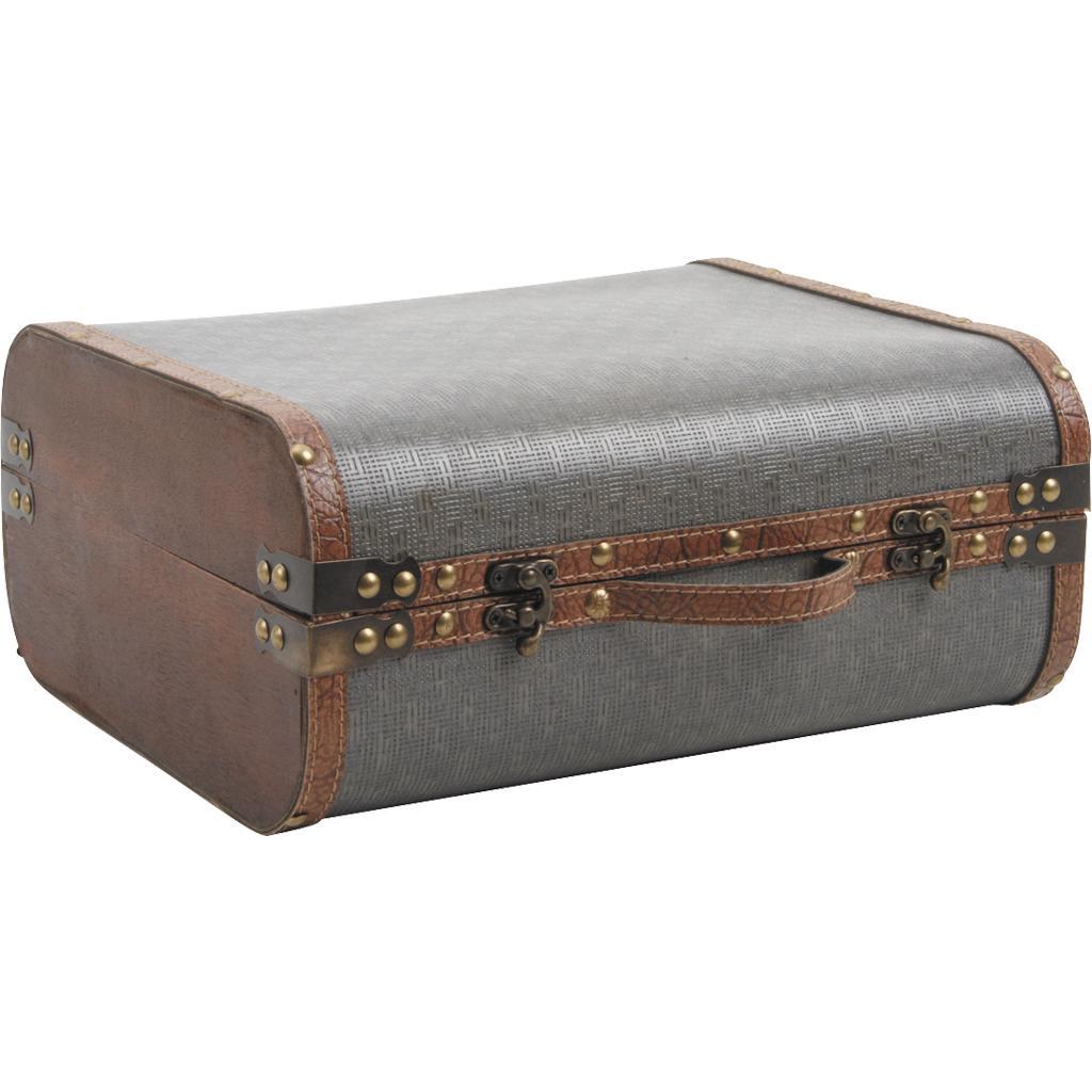 valise en bois et simili cuir vva1790 vannerie pack. Black Bedroom Furniture Sets. Home Design Ideas